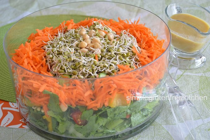 Bean Sprouts and Vegetable Salad – Simple Gluten Free Kitchen