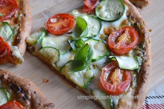 Zucchini Pesto Pizza – Simple Gluten Free Kitchen