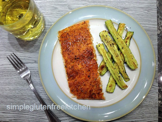Sensational sweet and spicy salmon