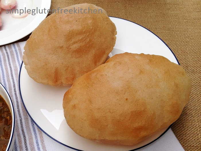 Fried bhature