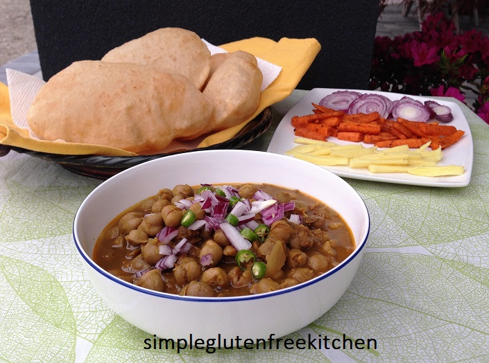 Most popular food duo chole bhature