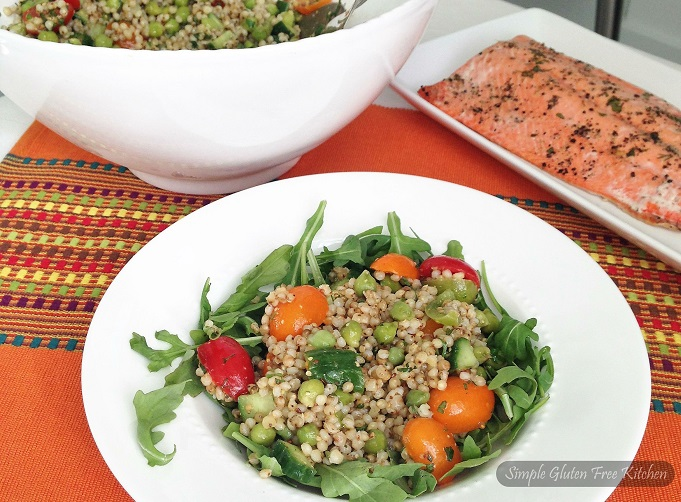 Hearty Sorghum Salad